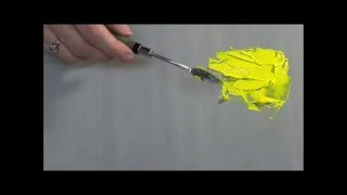 Download Thickening Acrylics for Palette Knife work Video