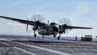 Download C-2 Greyhound Carrier Based Turboprop • Farewell Old Girl Video