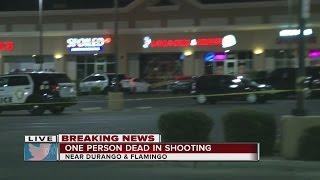 Download Person dies in shooting near Flamingo, Durango Video