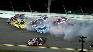 Download Nascar - 2016 - Daytona - Sprint Unlimited - Crash Compilation (Original Sound - No Music) Video