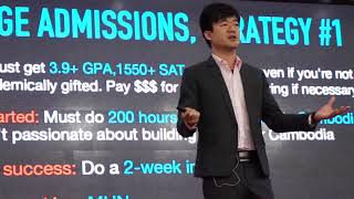 Download The Truth about College Admission | Alex Chang | TEDxSMICSchool Video
