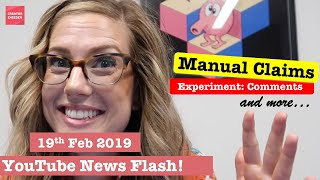 Download Markiplier says WATCH THIS CHANNEL | Comments experiments & add/remove Manual Claims | NewsFlash Video