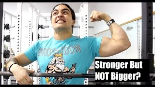 Download WHY Am I Getting Stronger But NOT Bigger? Video