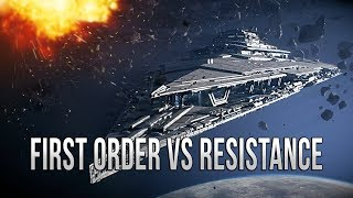 Download FIRST ORDER VS RESISTANCE! - Star Wars EMPIRE AT WAR [Yoden Mod] Video