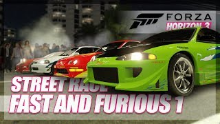 Download Forza Horizon 3 - The Fast and The Furious Recreation! (Build & Street Race) Video