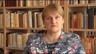 """Download Lionės Lapinskienės paskaita """"Elenos Gabulaitės gyvenimo ir darbo takais"""" Video"""