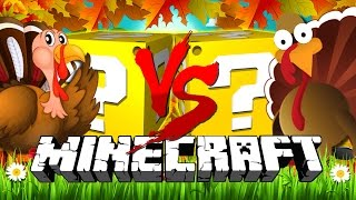 Download Minecraft | THANKSGIVING LUCKY BLOCK CHALLENGE | COOKING TURKEYS!! Video