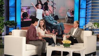 Download Ellen Welcomes Viral Bride Who Danced with Terminally Ill Father Video