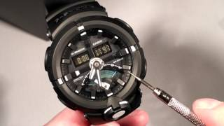 Download Casio GShock GA500 GA-500 First Look Function Demonstration Unboxing Review Video