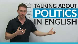 Download Vocabulary: Talking about POLITICS in English Video