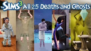 Download The Sims 3: All 25 Deaths and Ghosts (Base Game + Expansion Packs) Video