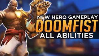Download Overwatch: DOOMFIST GAMEPLAY! - All Abilities Breakdown Video