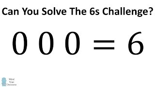 Download Can You Solve The 6s Challenge? Video