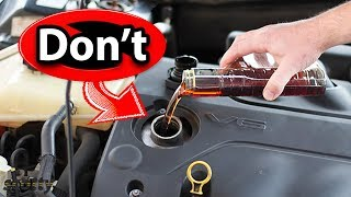 Download Never Use This Type of Engine Oil Additive in Your Car Video