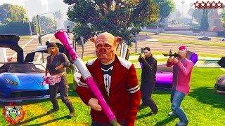 Download HikePlays: GTA 5 PIGGY HUNT!!! - Playing Mini-Games w/ The Crew - GTA Piggy Hunt (GTA 5) Video