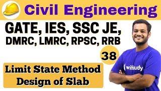 Download 3:00 PM - Civil by Nikhil Sir   Day #38   Limit State Method Design of slab Video