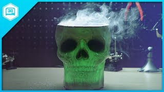 Download DIY Smokey Glowing Skull Mister Video