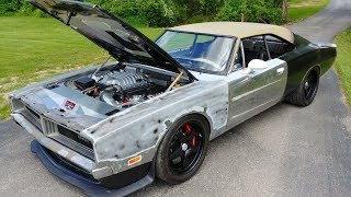 Download 1969 Dodge Charger Hellcat - Walk Around and layin rubber Video