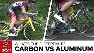 Download Carbon Vs Aluminium Bikes | What's The Difference On The Road? Video