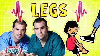Download Operation Ouch - Lively Legs | The Skeletal System Video