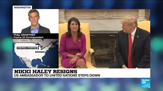 Download Nikki Haley resigns: Why is the US ambassador to the UN stepping down? Video