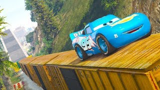 Download CARS DINOCO FOREST PARKOUR CHALLENGE (Cars Dinoco Lightning Mcqueen) Video