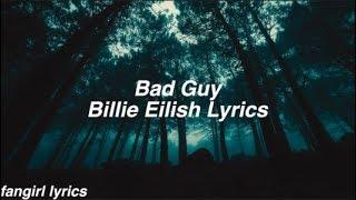 Download bad guy || Billie Eilish Lyrics Video