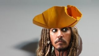 Download Origami Pirate Hat tutorial - DIY (Henry Phạm) Video