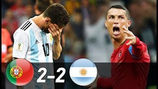 Download Portugal vs Argentina 2-2 | All Goals & Extended Highlights (Last Matches) Video