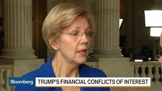 Download Warren: Trump Should Follow Mnuchin on Blind Trust Video