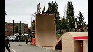 Download INSTABLAST! - 8 Year Old Boardslide 16 Rail!! Crazy Hill Bomb Powerslides!! Huge Vert Wall Drop In!! Video