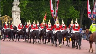 Download Changing of the Guard at Buckingham Palace (10th June 2015), London UK (HD1080p) Video