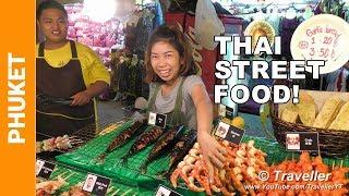 Download PATONG BEACH NIGHT MARKET - Thai Street Food - Phuket travel videos Video
