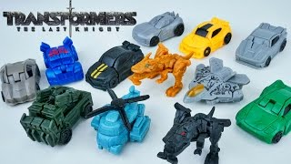 Download Transformers the Last Knight Tiny Turbo One Step Changers Blind Bags Series 1 Toys Video