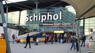 Download Schiphol Airport Train to Amsterdam Centraal Video