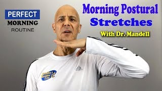 Download Morning Exercise Stretches to Improve Your Posture with Dr. Mandell Video