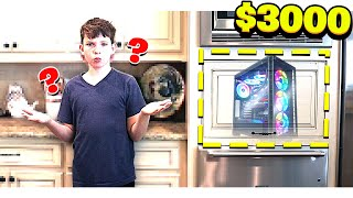 Download HIDING a $3000 *SECRET* COMPUTER from MY LITTLE BROTHER! Video