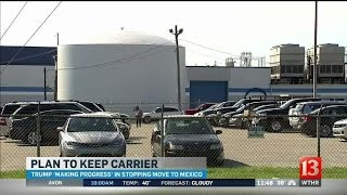 Download Workers have hopes Carrier may reconsider move to Mexico Video