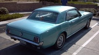 Download 1966 Ford Mustang 289 A code for Sale Inspection part 4 of 4 the drive Video