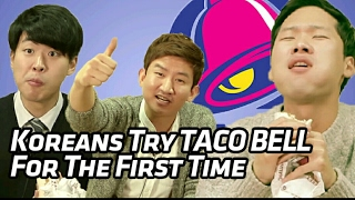 Download Koreans Try TACO BELL For The First Time [Korean Bros] Video