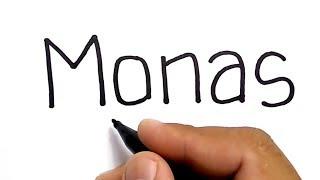 Download HEBAT, menggambar MONAS dengan kata monas Video