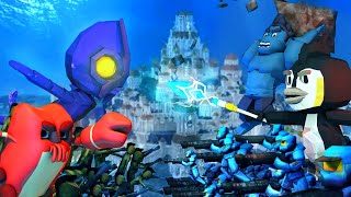 Download Minecraft | Atlantis Endeavors - ATTACKING THE CONCH COMMAND: Cody Maverick vs Kraken Kid! Video