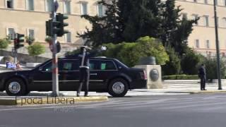 Download President Obama massive Motorcade in Athens Greece 2016 Video