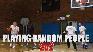 Download Playing random people 2v2 Video