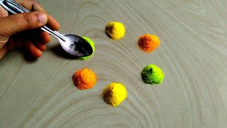 Download Best satisfying rangoli art video/satisfying and relaxing rangoli Video