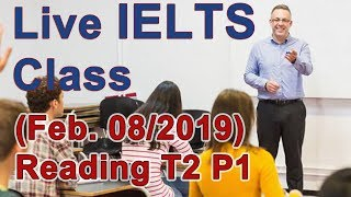Download IELTS Live Class - Reading Academic - Strategies and Skills for Band 9 Video
