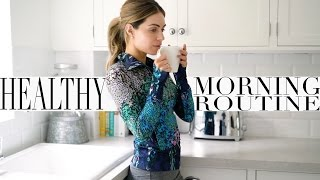 Download MY HEALTHY MORNING ROUTINE + WORK OUT ROUTINE   Lydia Elise Millen   Ad Video
