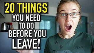 Download 20 THINGS TO DO BEFORE YOU GO TRAVELLING!!! Video