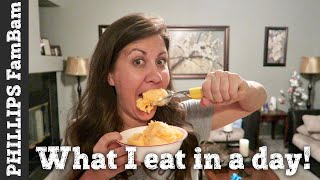 Download WHAT I EAT IN A DAY | BREAKFAST, LUNCH & DINNER | PHILLIPS FamBam Vlogs Video