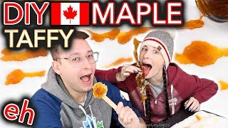 Download DIY Maple Taffy on a Stick (is Canada even real?) Video